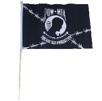 "12""x18"" Stick Flag [POW]"